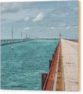 Memories Of The Overseas Railroad Wood Print