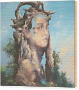 Memory Of A Trip Wood Print
