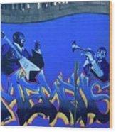 Memphis Blues Wood Print