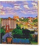 Memphis Church Wood Print