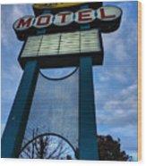 Memphis - Lorraine Motel 001 Wood Print by Lance Vaughn
