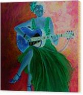 Memphis Minnie Wood Print