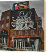 Memphis - Rock 'n' Soul Museum 001 Wood Print by Lance Vaughn