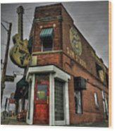 Memphis - Sun Studio 002 Wood Print