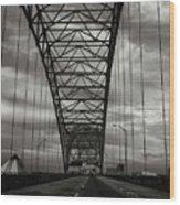 Memphis Two Wood Print
