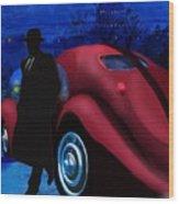 Men With Hats 1 Wood Print by Sydne Archambault