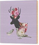 Menagerie Wood Print