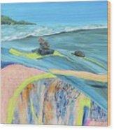 mendocino coast II Wood Print