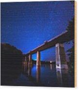 Menesetung Bridge Wood Print
