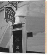 Menger Bar Wood Print
