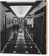 Menger Hotel Hall Wood Print