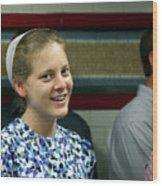 Mennonite Chorus Union Square Station Nyc 5 21 11 2 Female Sing Wood Print