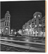 Menomonee And Underwood At Night Wood Print