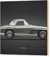 Merc 300 Sl 1961 Wood Print
