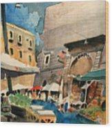mercato del Pesce Wood Print