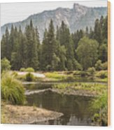 Merced River Yosemite Valley Yosemite National Park Wood Print