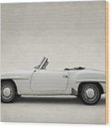 Mercedes 190sl Wood Print