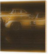 Mercedes Benz 300sl Triple Wood Print