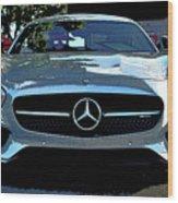 Mercedes-benz Amg Gt S Wood Print