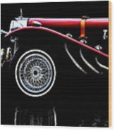 Mercedes Benz Ssk  Wood Print