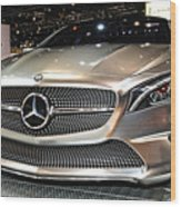Mercedes Benz Style Coupe Concept Number 1 Wood Print