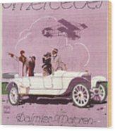 Mercedes Daimler C. 1910 Wood Print