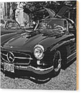Mercedes Gull Wing Coupe Wood Print
