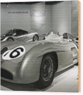 Mercedes Racer Wood Print