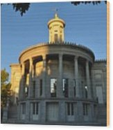 Merchant Exchange Building - Philadelphia Wood Print
