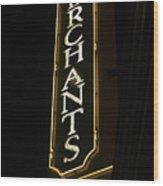 Merchants Wood Print