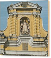 Mercid Church Antigua Guatemala Wood Print