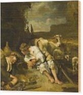 Mercury And Argus 1647 Wood Print