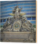 Mercury At Grand Central Terminal Wood Print