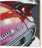 Mercury Meteor Wood Print by Cathie Tyler