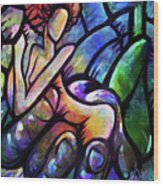 Mercy's Hand Wood Print