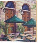 Merida Cafe Wood Print