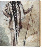Meriwether Lewis Wood Print