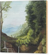 Merlin's Pool Wood Print
