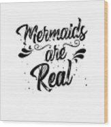 Mermaid Art Wood Print