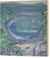 Mermaid Cove Wood Print
