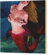 Mermaid Desire Wood Print