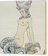 Mermaid, From Les Liaisons Dangereuses  Wood Print