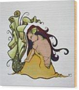 Mermaid Tears Wood Print