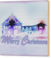 Merry Christmas #181 Wood Print