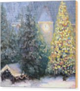 Merry Christmas From Vail Wood Print