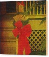 Merry Christmas To You Wood Print