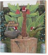 Merry Christmas - Wild Adventures Wood Print