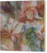 Merry Magnolias Wood Print