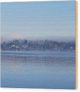 Merser Island. Wood Print
