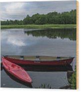 Mersey River Wood Print